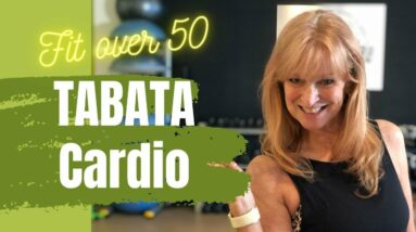 Quick Bodyweight TABATA Workout | 4 minute CARDIO Workout (Rocky) | Fit over 50