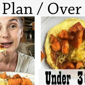 Women Over 50 Diet Plan For HEALTHY WEIGHT LOSS + Cook With Me - Recipe Under 300 Calories