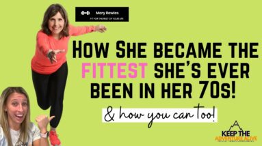 The SECRETS to getting FIT over 50 | Turning your health around in your 50s is POSSIBLE!