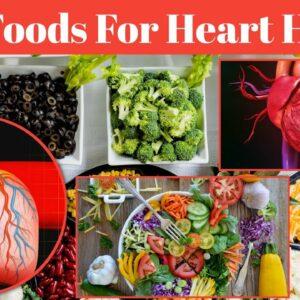 Top 8 Best Foods For Heart Health | Heart Healthy Diet | HealthMate