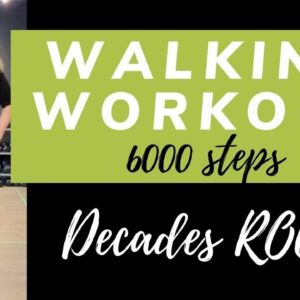 Decades Rock Walking Workout | 6000 Steps in 45 min | Classic Rock, Oldies & RnB Walking Exercise
