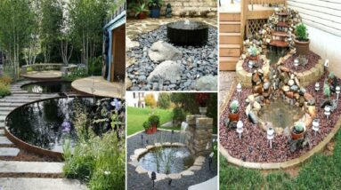 30 Garden Design Ideas, Small Ponds Turning Your Backyard Landscaping Awsome Place   garden ideas
