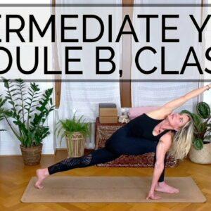 Yoga Training: 🌟Class A 🌟Intermediate Module B. Cat de Rham. OYT #yoga #iyengaryoga