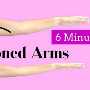 Get rid of Flabby Arms Workout / Bat Wings exercise / Small Weights