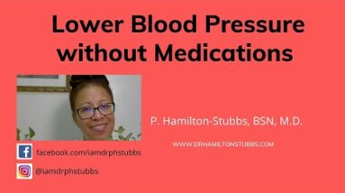 How to Lower Blood Pressure Without Medication