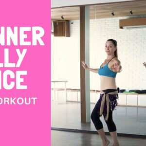 Learn How To Belly Dance For Beginners (Fun Combo!)