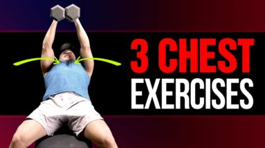 The ONLY 3 Chest Exercises You Need To Build Muscle (Dumbbells Only!)