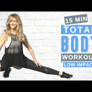 15 Min FULL BODY Workout Over 50 | Beginner Friendly, No Jumping!