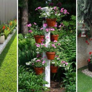 45 Beautiful Small Front Yard Landscaping Ideas | diy garden