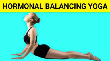 6 Easy Yoga Poses For Hormonal Imbalance   (How To Balance Hormones At Home)   Yoga