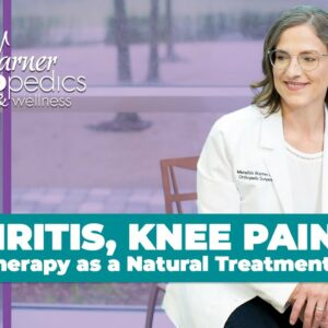 Arthritis Knee Pain & PRP Therapy as a Natural Treatment